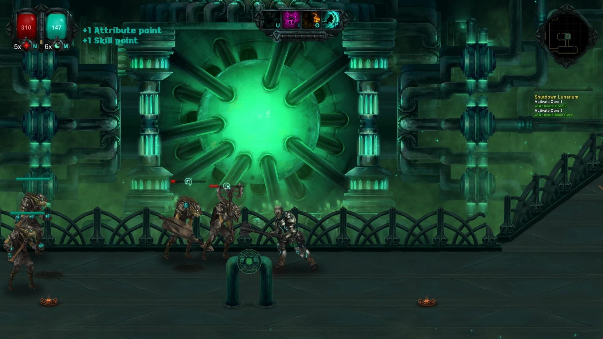 Hand Painted 2d Scroller Moonfall Ultimate Out This