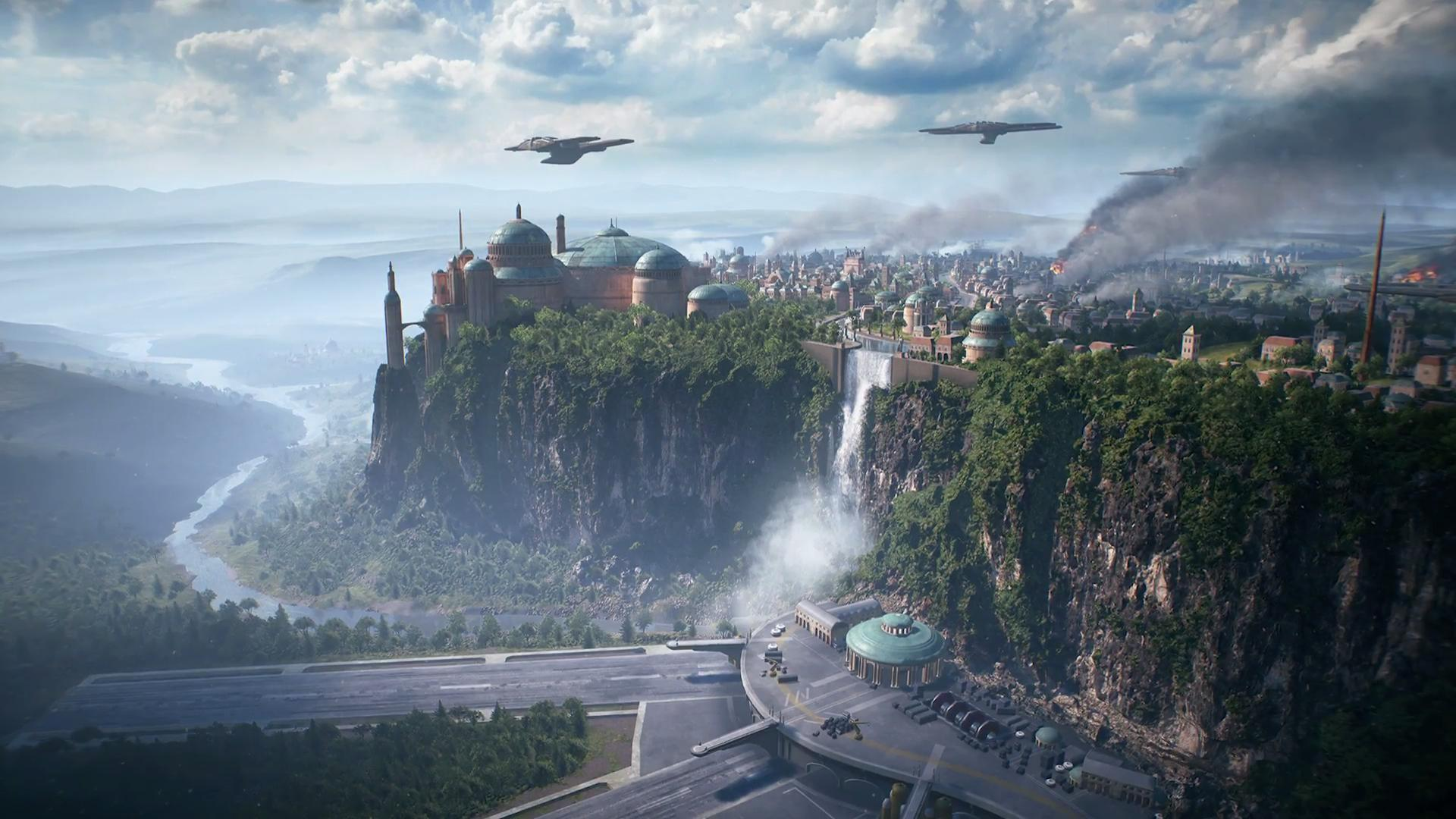 Star Wars Releases New Teaser Image For Battlefront 2 Featuring Naboo Map