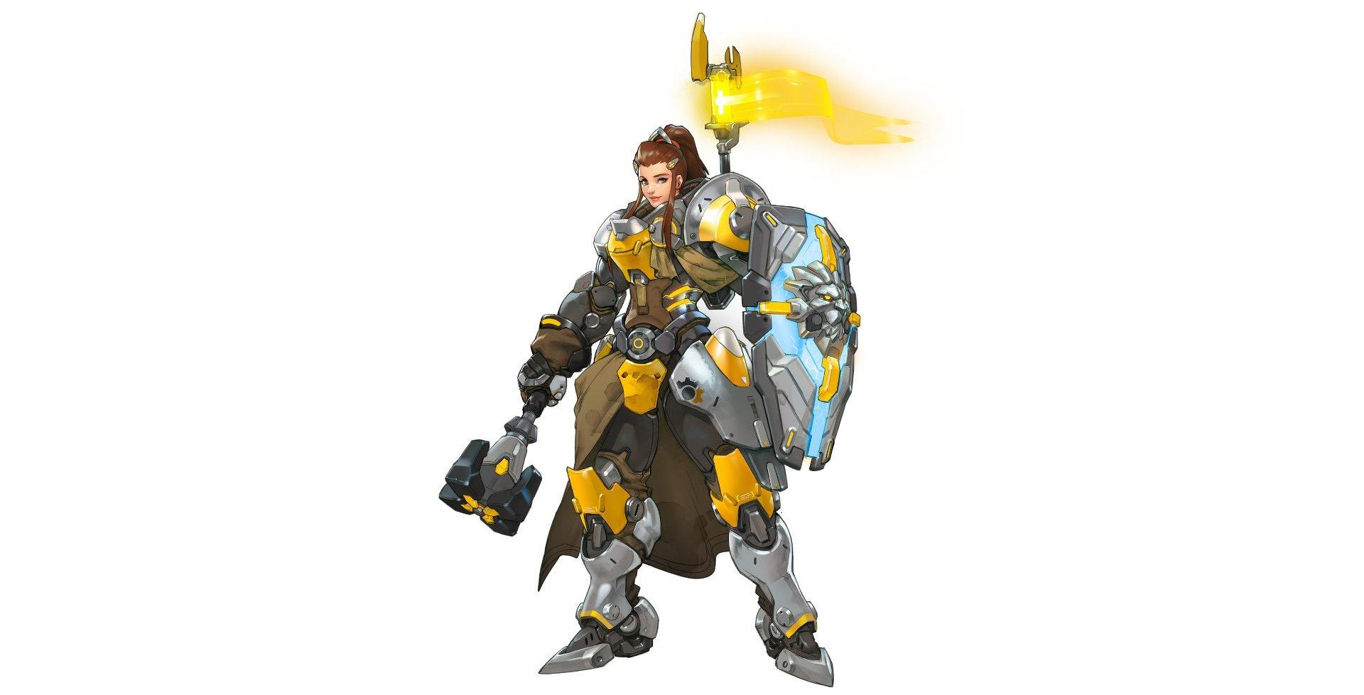 The new Overwatch character Brigitte has been revealed