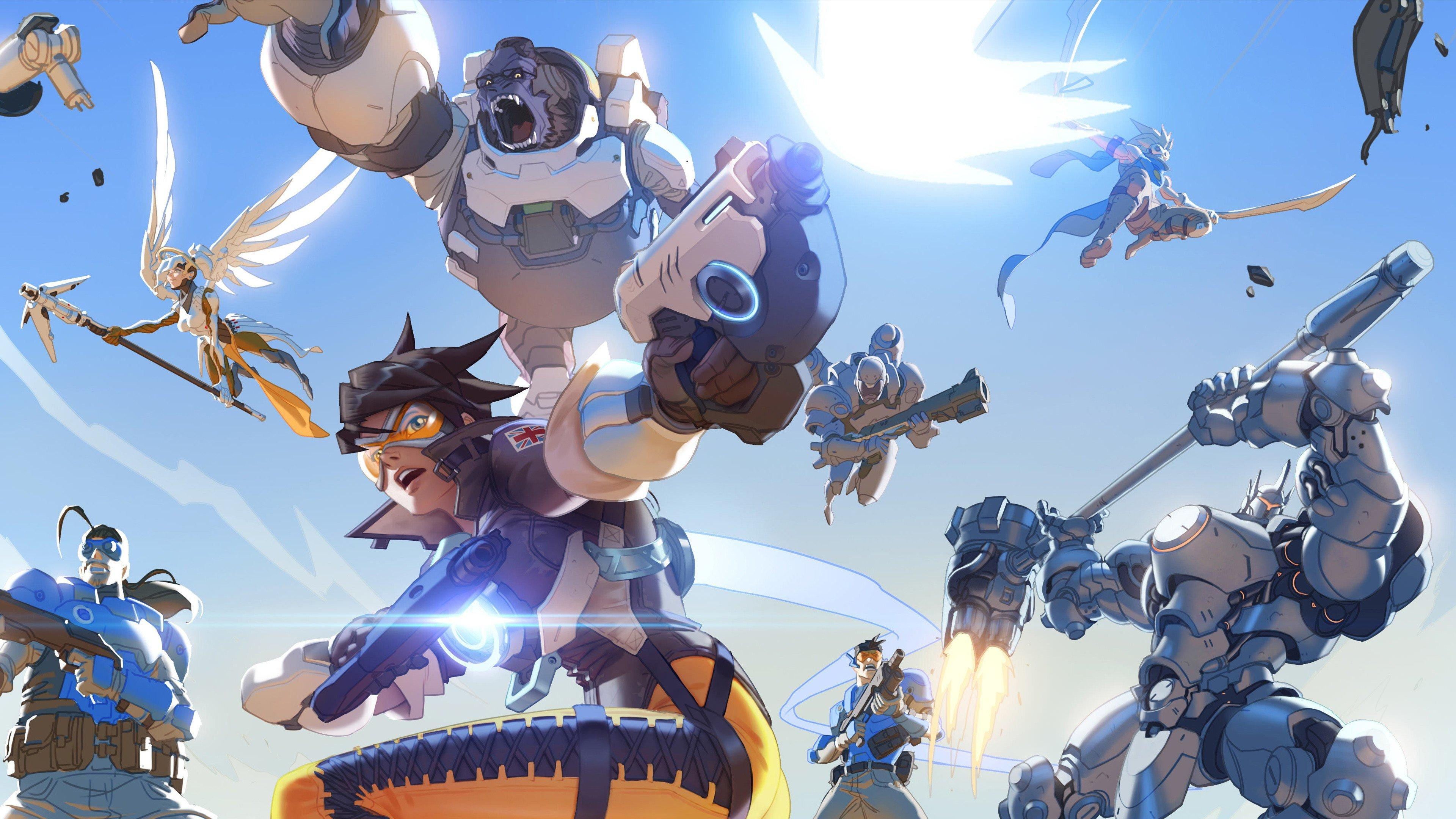 Overwatch Update Brings Deathmatch and Team Deathmatch to the Game