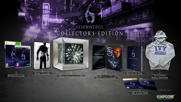Resident Evil 6 Collector S Edition Revealed Playstation 4