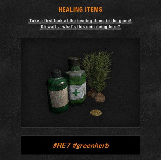 Green Herbs Will Return in Resident Evil 7