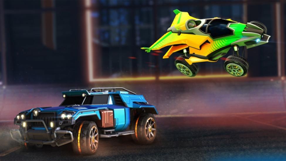 Rocket League Getting Premium Battle Cars Dlc