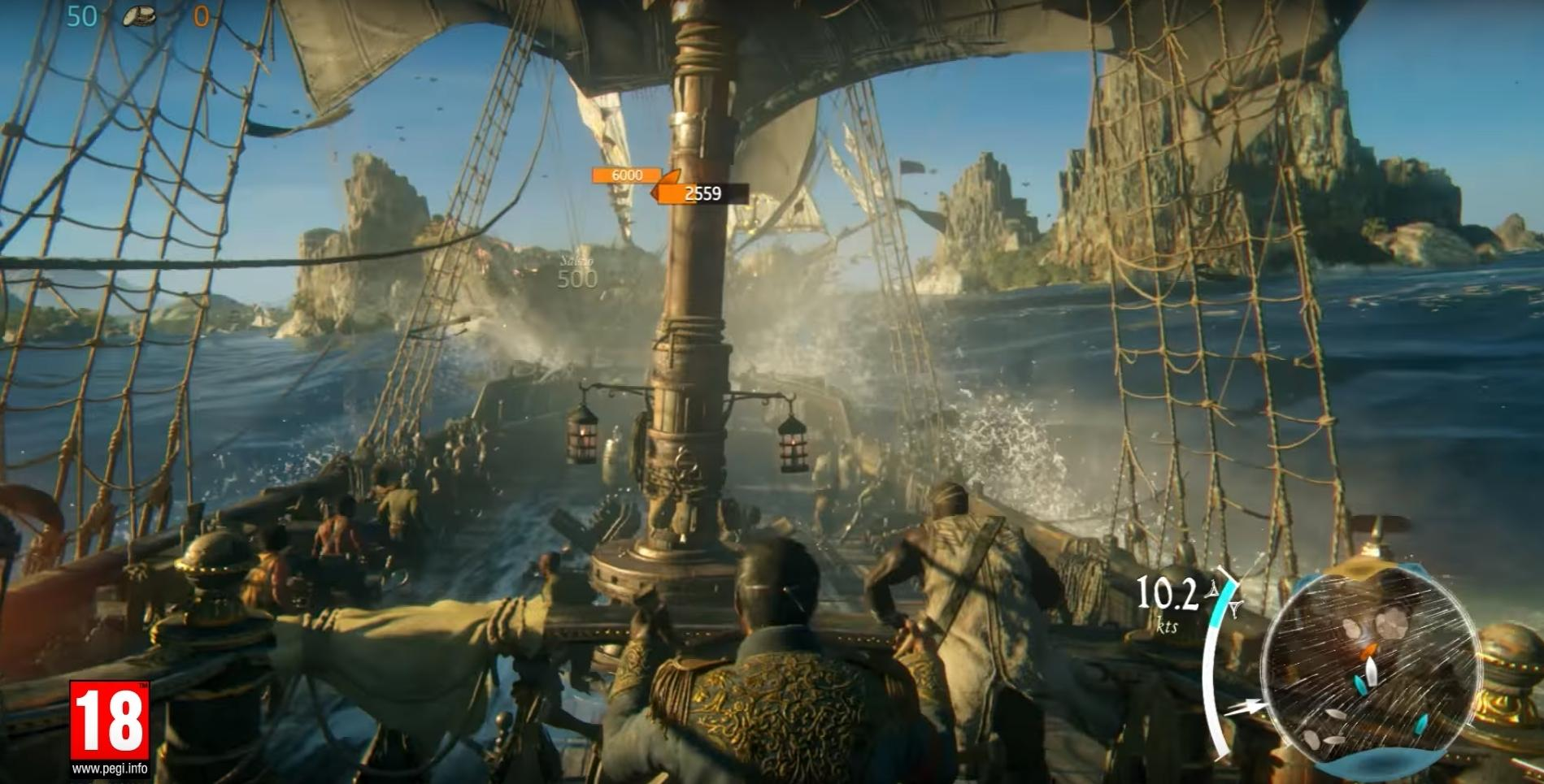 Black Flag gets MMO treatment in Skull and Bones