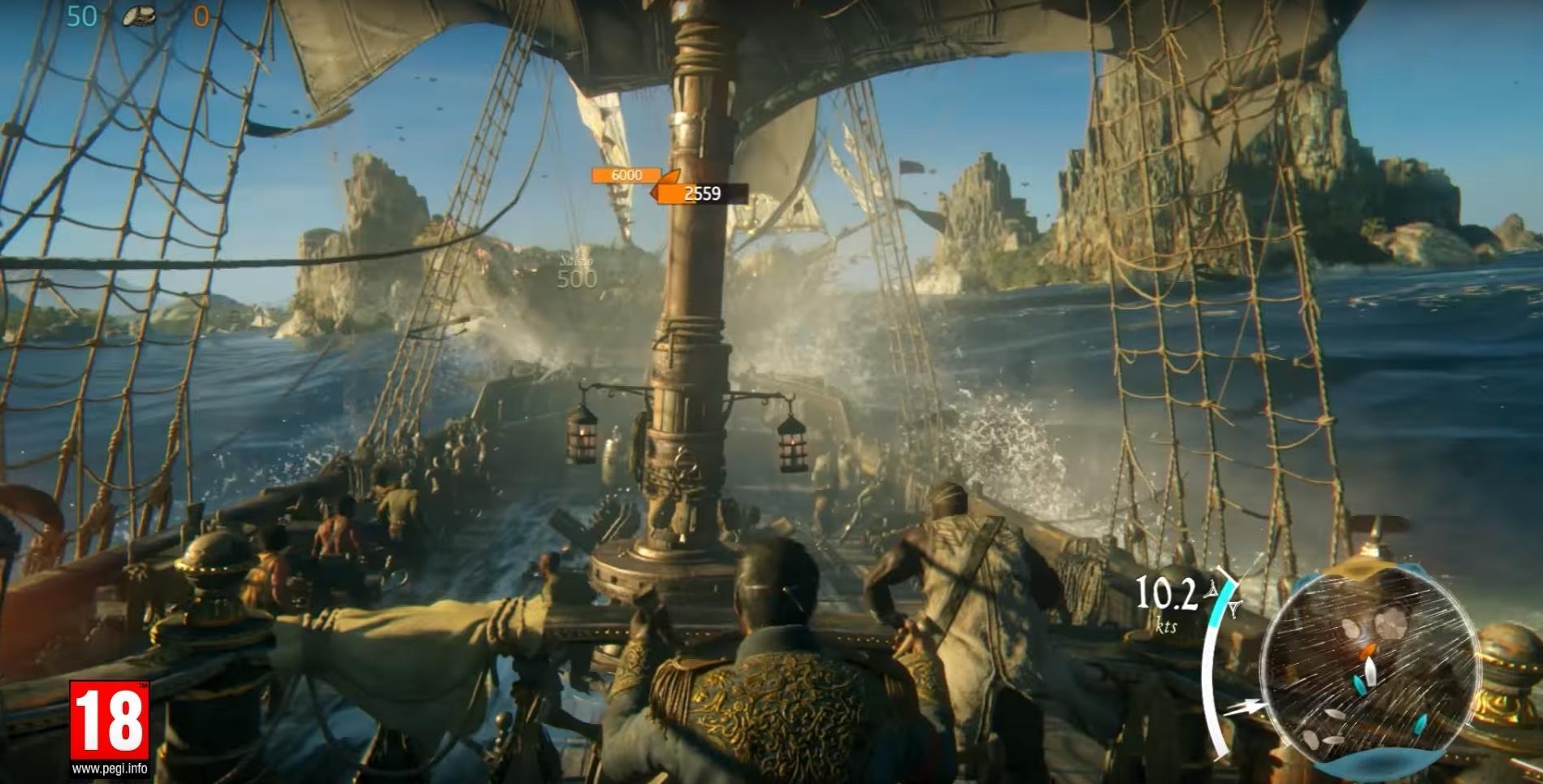 Skull And Bones Video Game 2018 Ubisoft: Skull & Bones Gameplay Trailer Debuts