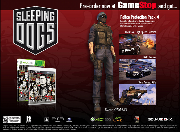 Sleeping Dogs Limited Edition + DLC + Update 1.4 Full ...