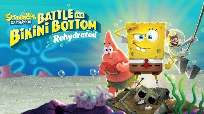 SpongeBob SquarePants: Battle for Bikini Bottom - Rehydrated! coming to Switch