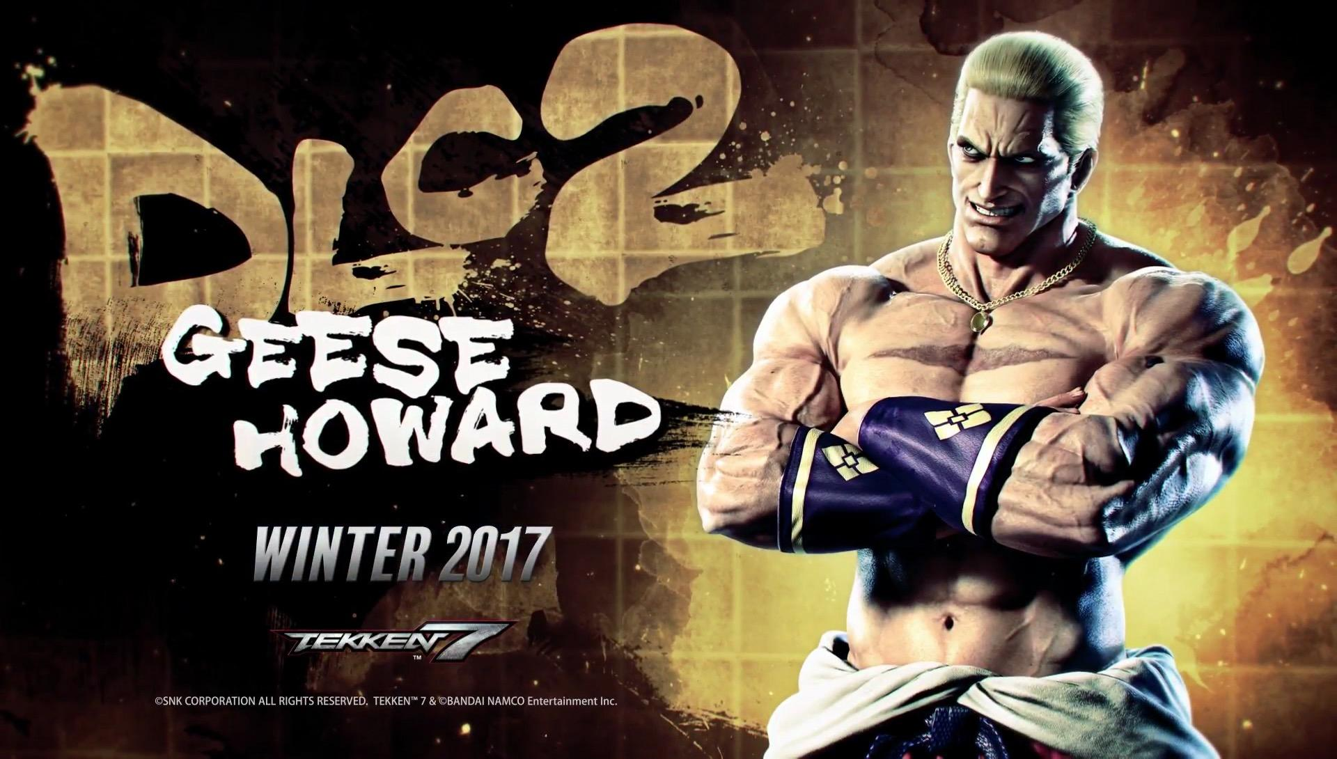 New Tekken 7 Character Announced: Geese Howard from Fatal Fury