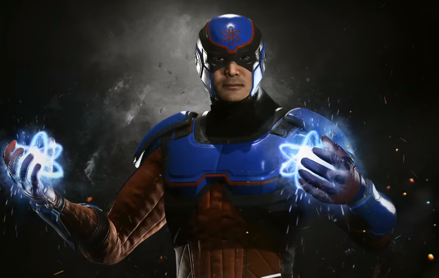 Injustice 2 Atom Revealed as Future DLC Character, Watch Debut Trailer