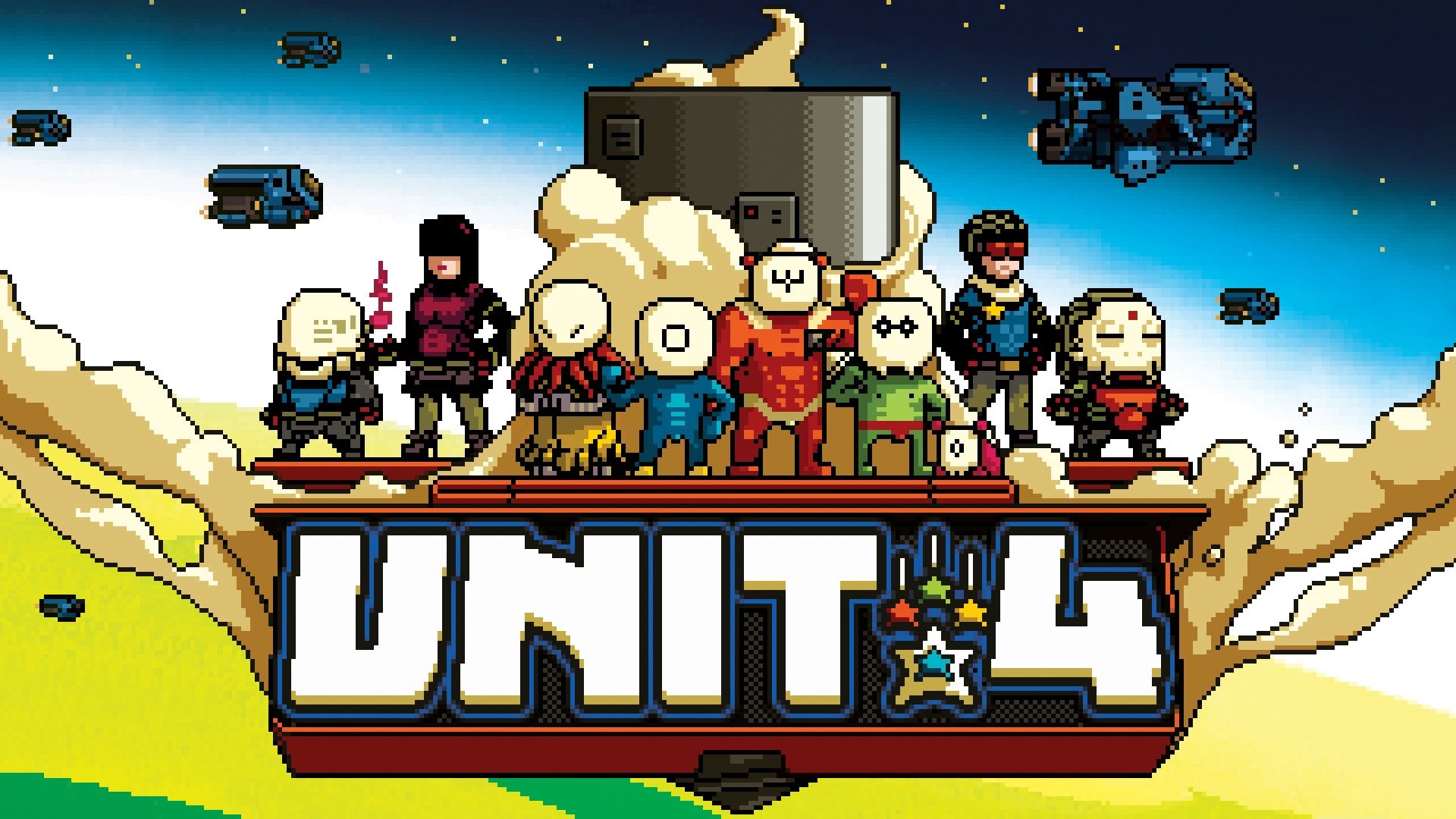 Unit 4 is an Action-Packed Retro Side-Scroller Coming to
