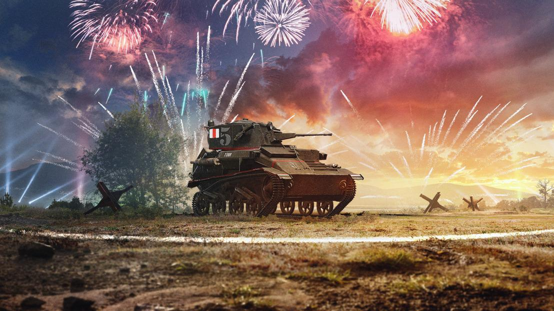 World of Tanks Celebrates Five Year Anniversary With New