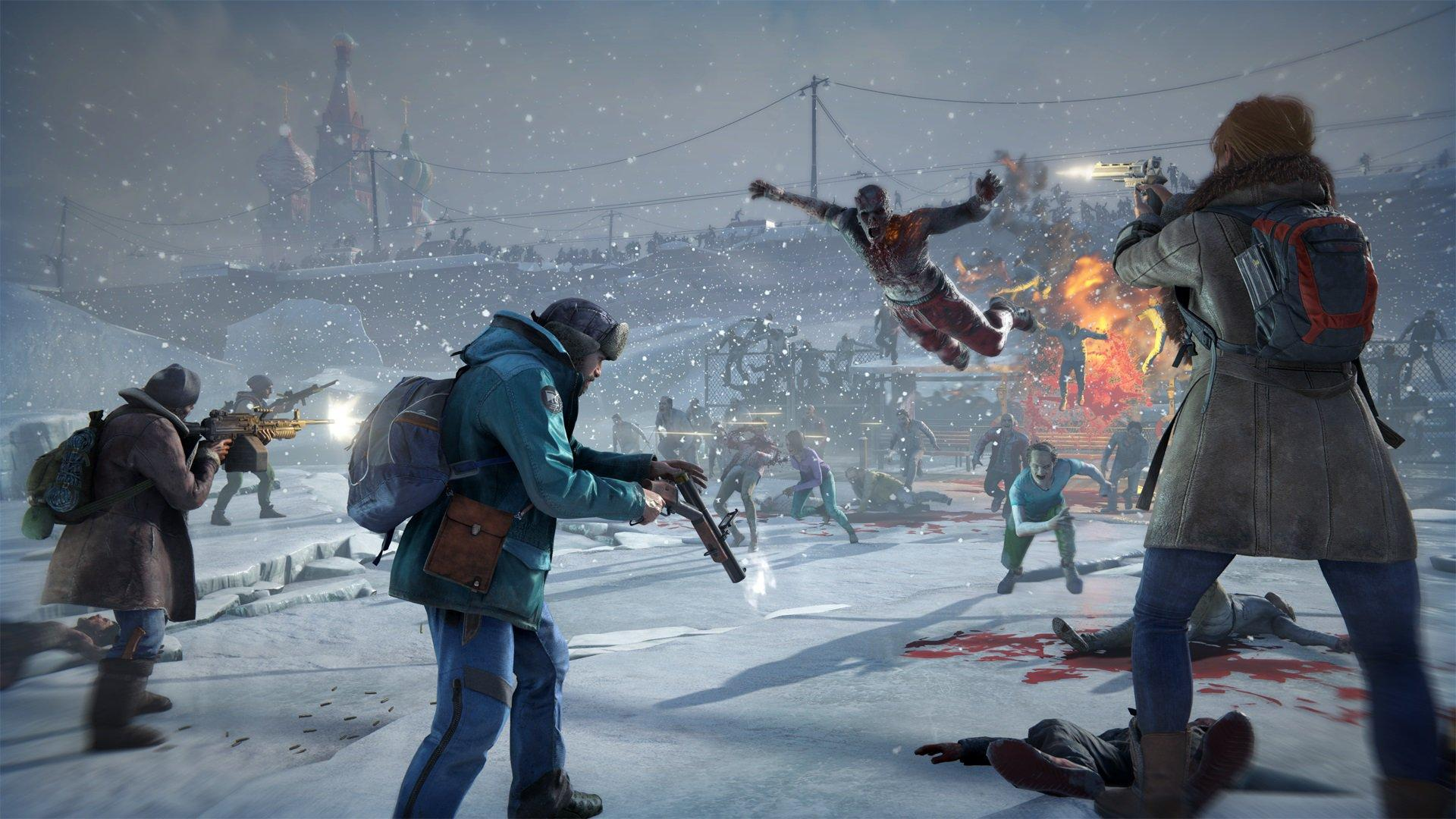 World War Z Cinematic Gameplay Trailer Showcase the Zombie Horde in Russia - Xbox One, Xbox 360 ...