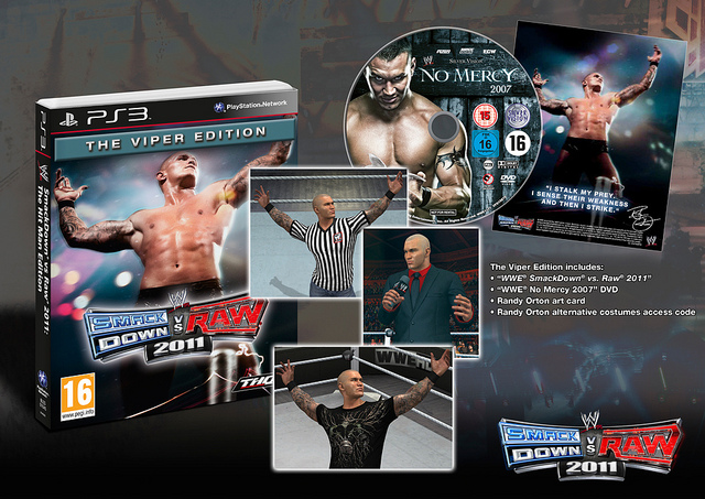 WWE Smackdown Vs. Raw 2011 UK Special Editions Unveiled