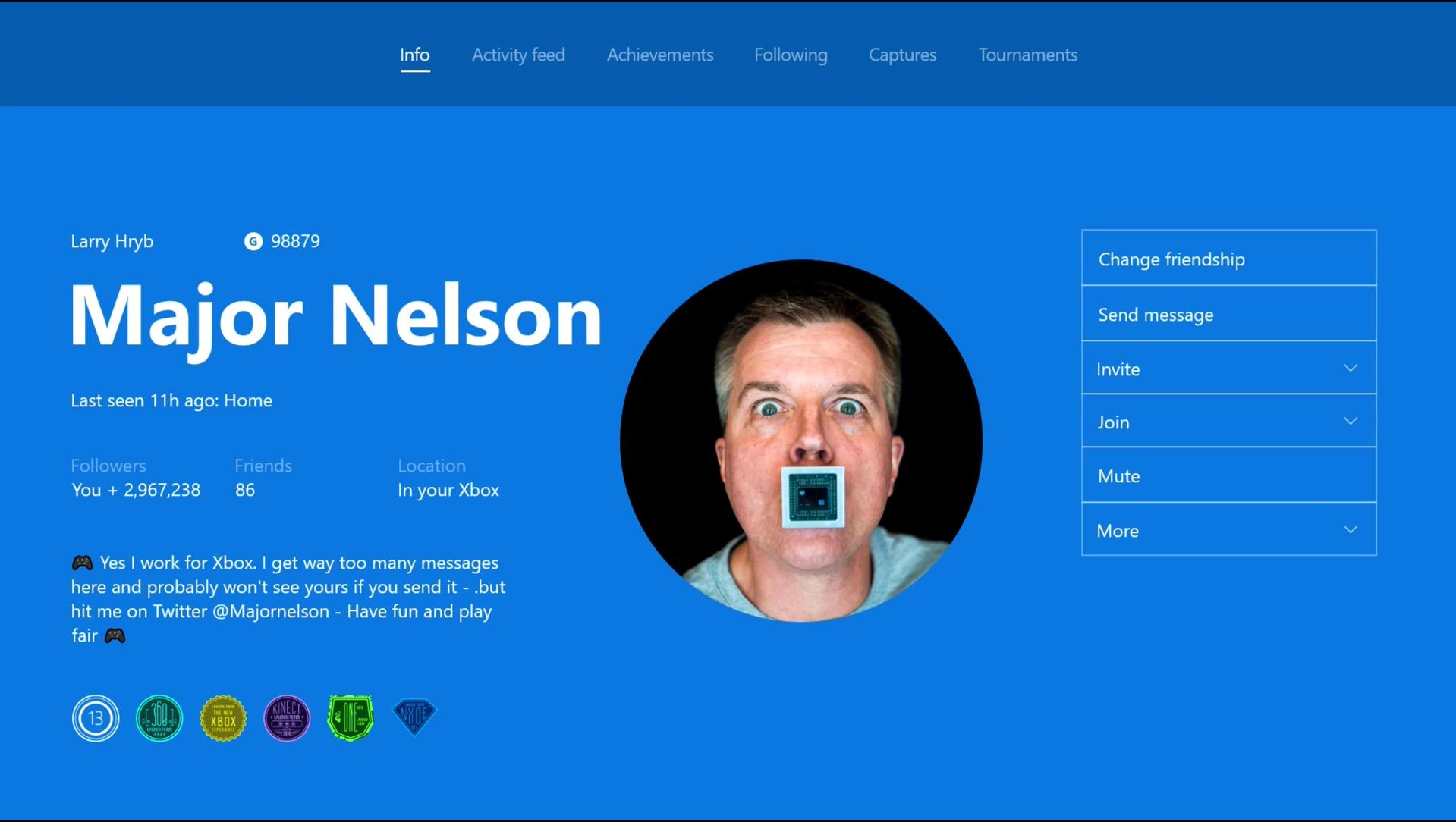 Xbox One Update Adds Custom Gamerpics, Arena Updates and Co