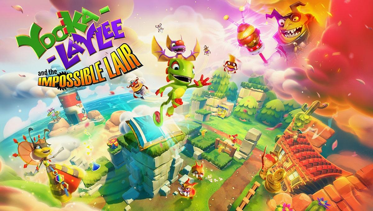 Yooka-Laylee and the Impossible Lair revealed
