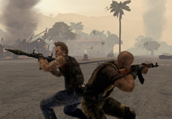Mercenaries 2 world in flames review xbox 360 review at right what do we blow up first mercenaries 2 altavistaventures Gallery