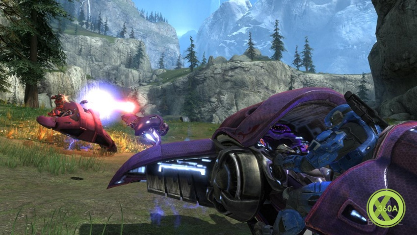 Hemorrhage Halo Reach. Halo Reach Hands-On Preview