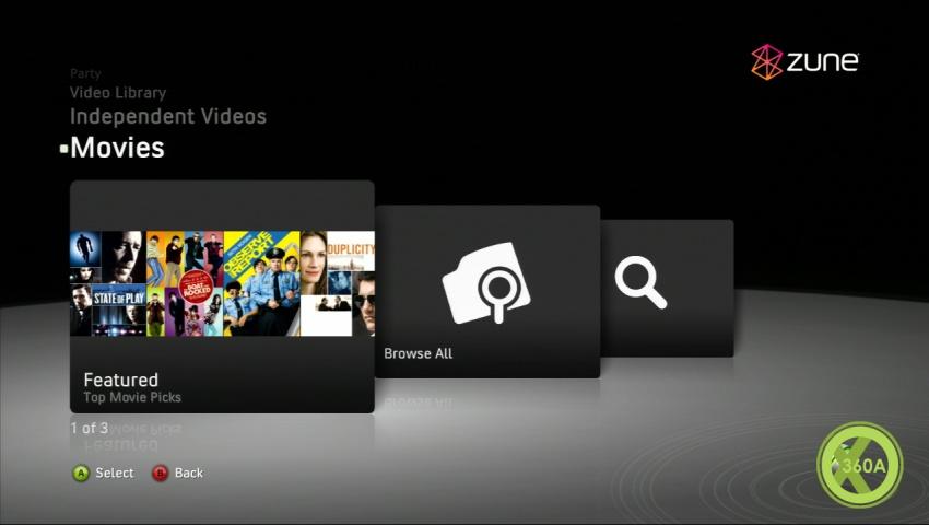 Xbox 360 Zune Update saugt
