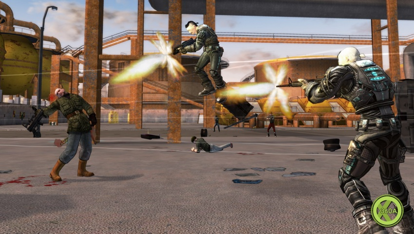 Crackdown on Xbox One X Looks Criminally Good - Video - Xbox
