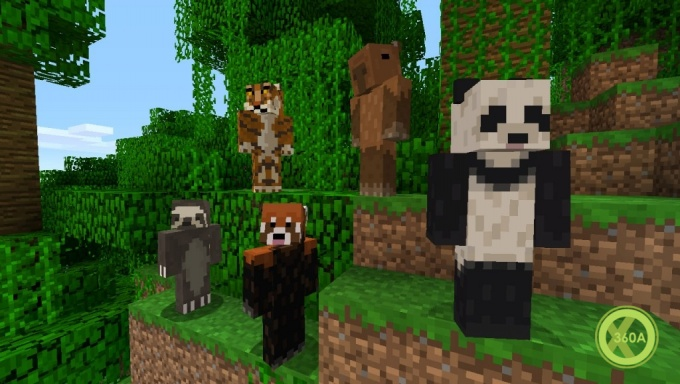 Red Panda Minecraft Skin Xbox Festive Pack Thepixinfo