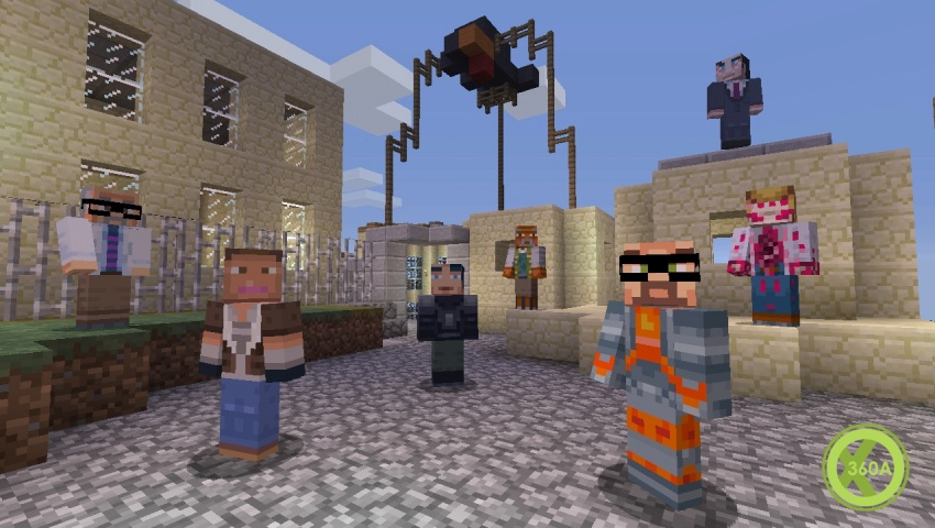 Minecraft: Xbox 360 Edition Skin Pack 3 Coming Soon - Xbox One, Xbox