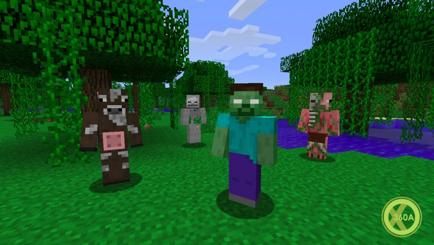 Minecraft Xbox 360 Edition Title Update 14 Now Available