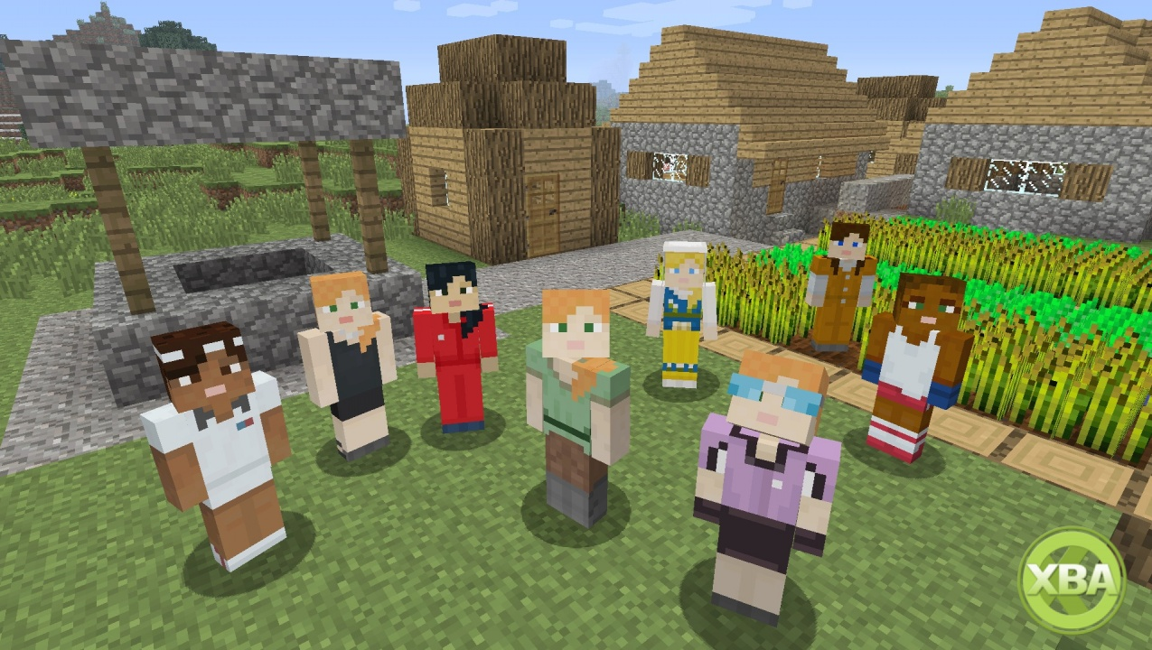 Mojang Is Adding A Woman Player Character To Every Version Of Minecraft As Well Slotting In Some New Achievements On The Xbox 360 Edition Game