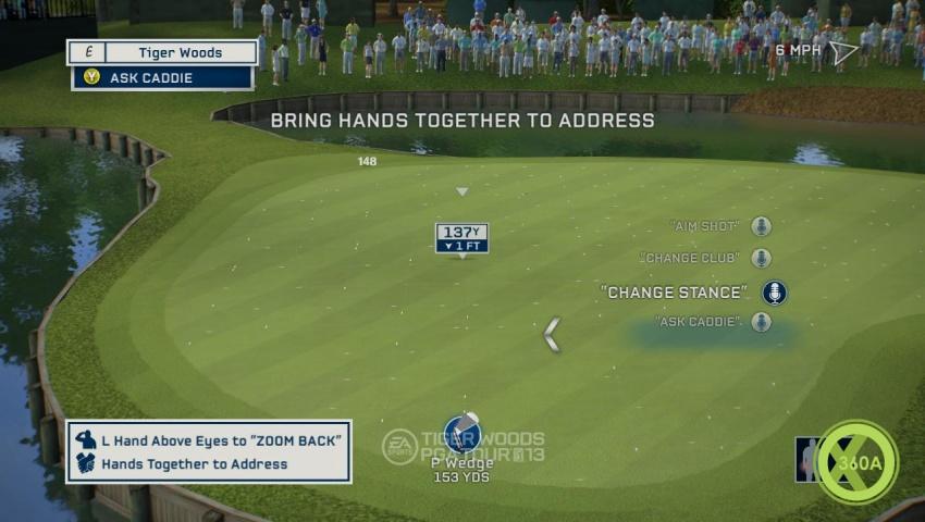 Tiger Woods Pga Tour  Xbox  Kinect