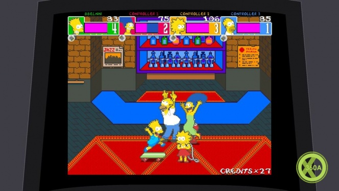 The Simpsons Arcade Game is Now Available - Xbox One, Xbox