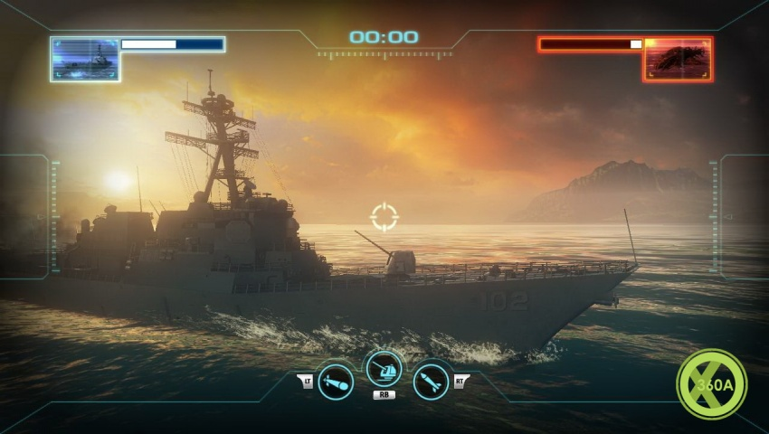 Ship Games For Xbox 360 : Sink these battleship the video game screenshots and