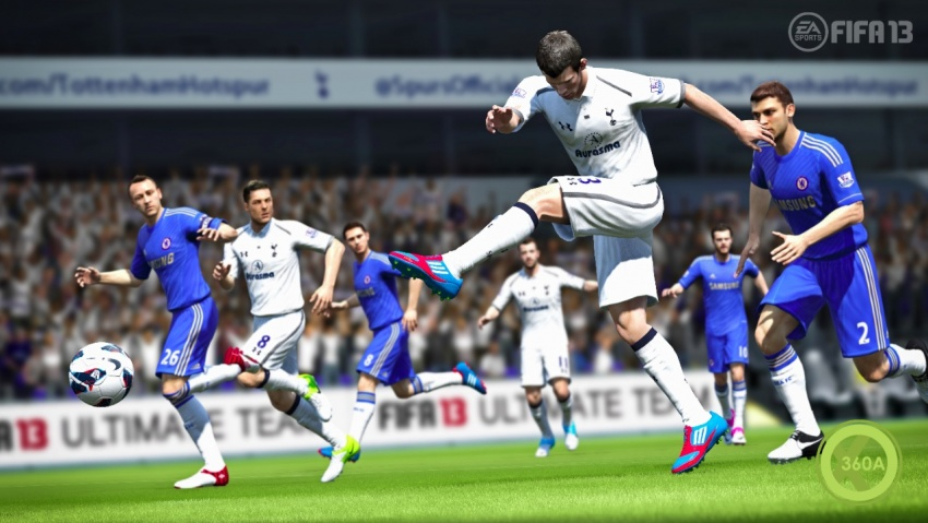 FIFA 13 Demo Breaks Records, Pre-Orders Through the Roof Med_fifa13_ps3_bale_shooting