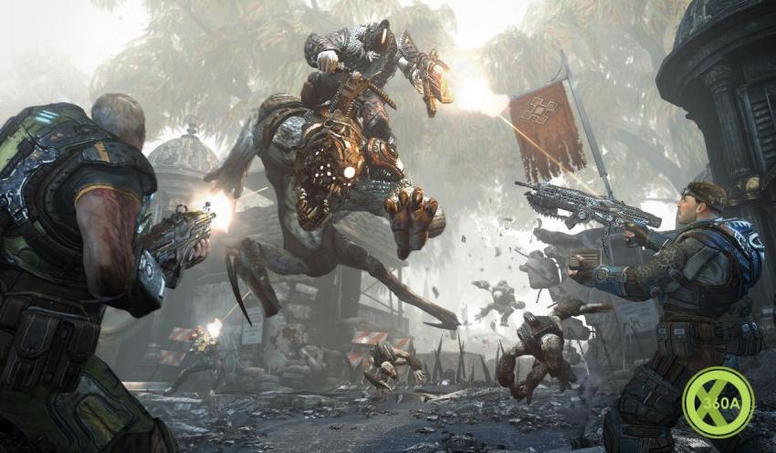 gears of war serapede - photo #23