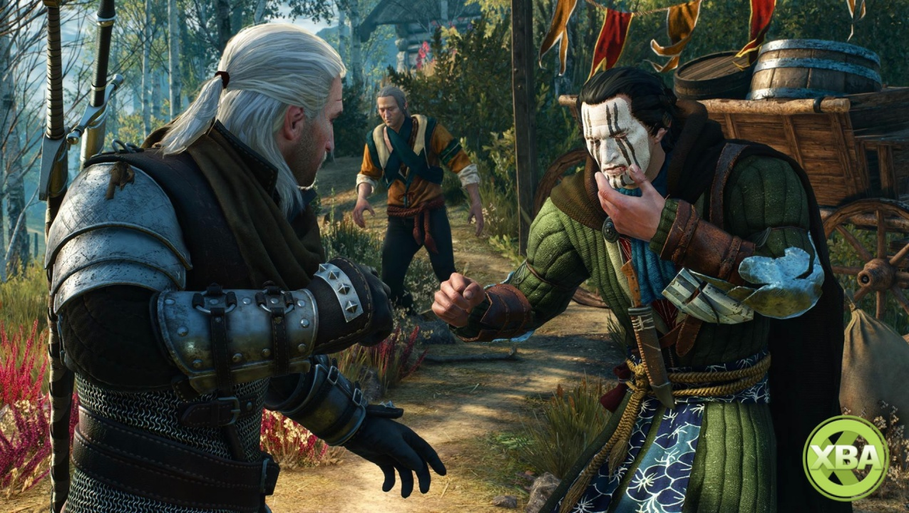 The Witcher 3's Week 5 DLC Includes a Revealing Dress for