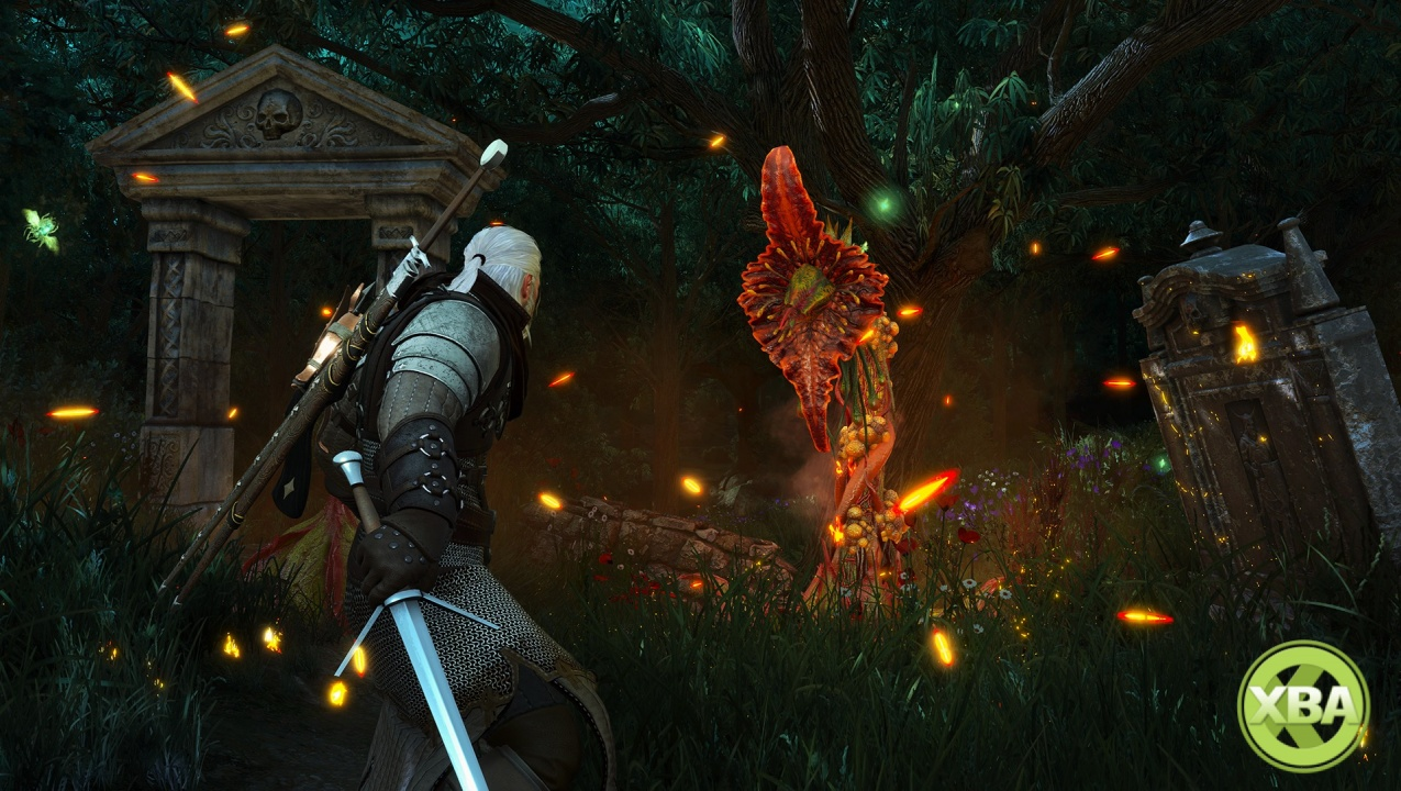 The unpatched Xbox version of The Witcher 3: Wild Hunt can run at 60fps on Xbox One X