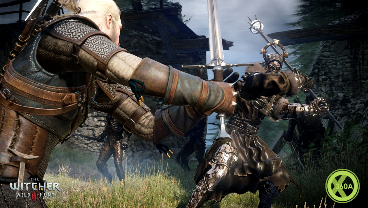 The Witcher 3 enhanced for Xbox One X