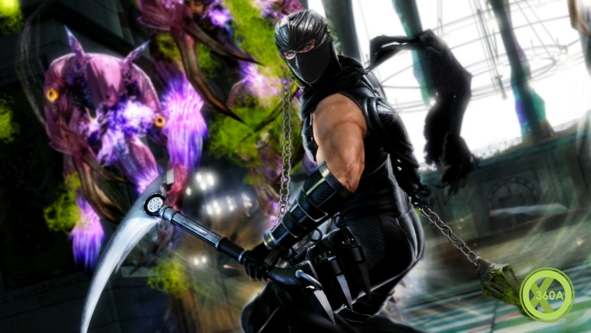 Ninja Gaiden 3 Razor S Edge Screens Jump In Smartglass Support