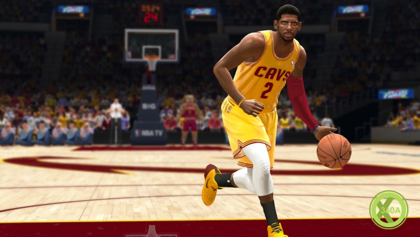NBA Live 14 Trailer and Screens Feature Cavs Cover Star ...