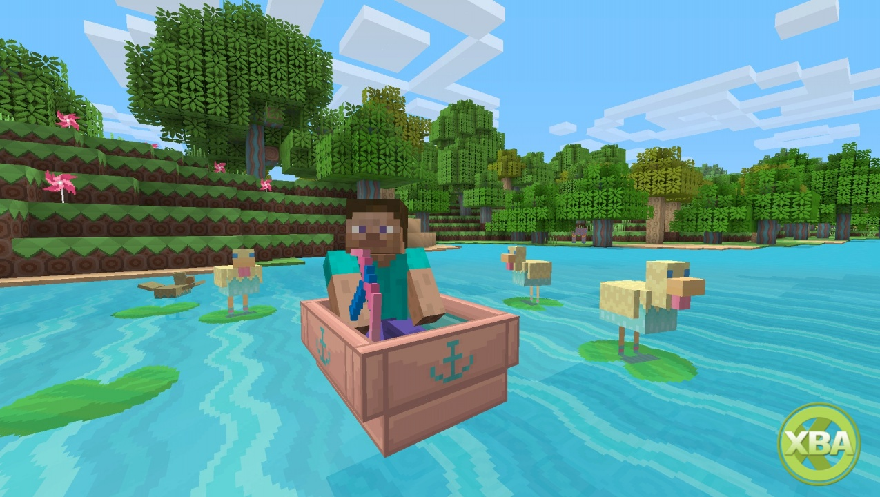 10 arrives on Minecraft Console Edition