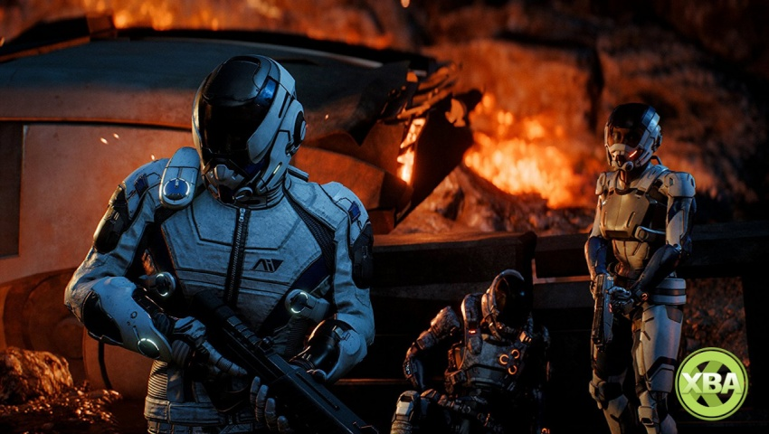 Andromeda Gameplay Series Videos Begin With Combat
