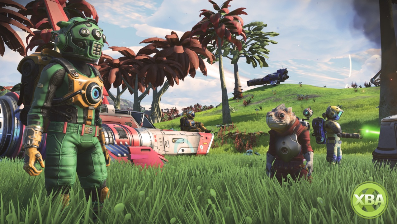 No Man's Sky Beyond is a three-part, multiplayer-focused expansion