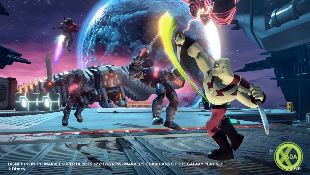 Disney Infinity Marvel Super Heroes Welcomes The