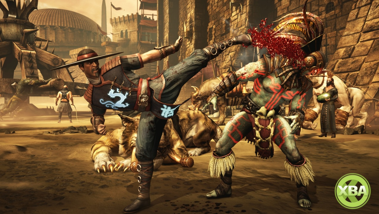 Mortal Kombat X Hands On Preview Fatality Fury Xbox One Xbox