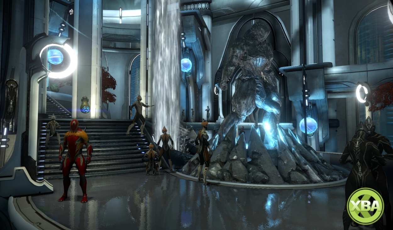 Warframe Gets New Social Hubs With The Orbital Relays