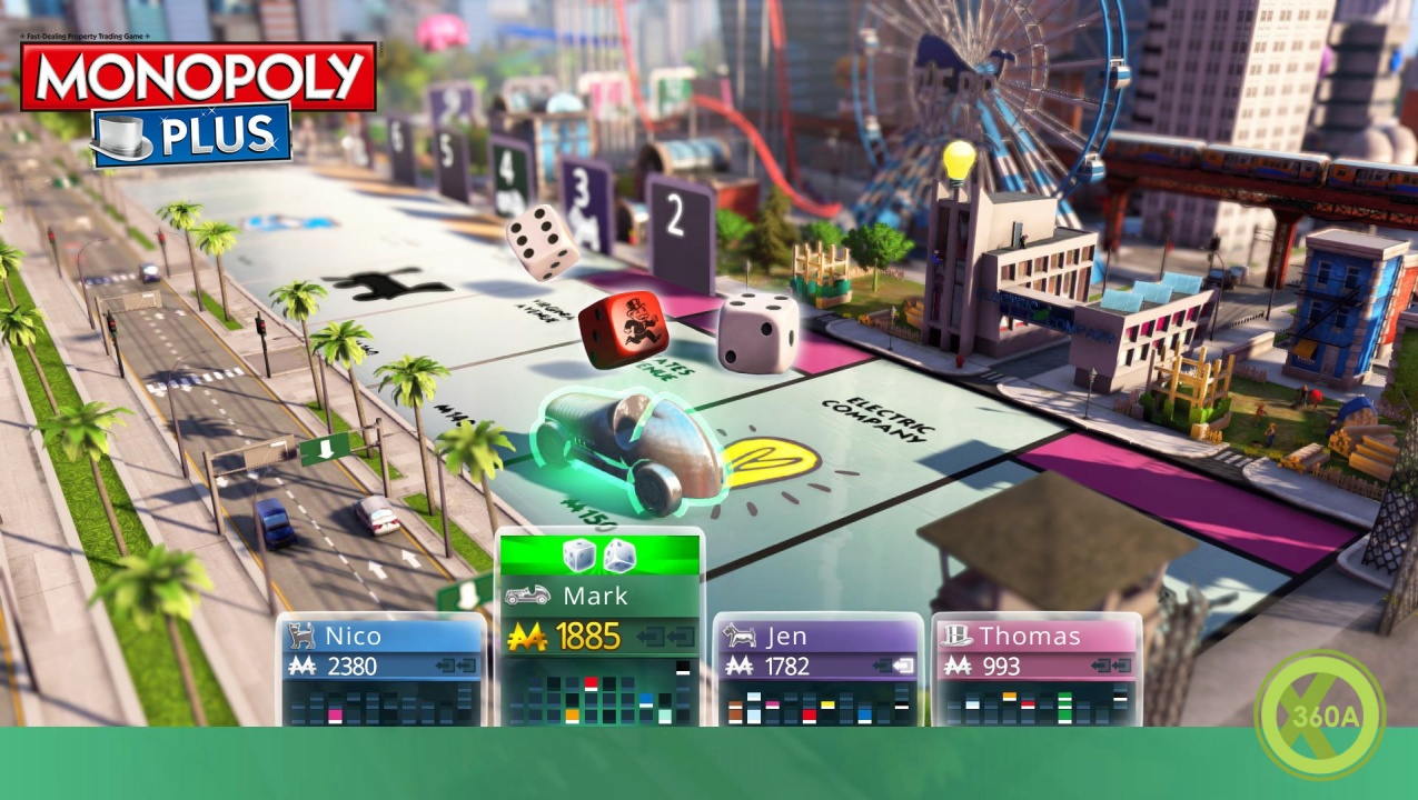 Monopoly Plus (X-BOX 360) 2014