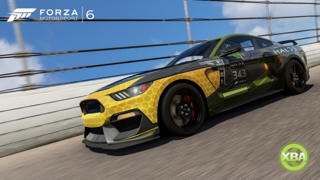 Halo Themed Ford Muscle Cars Now Available In Forza Xbox One