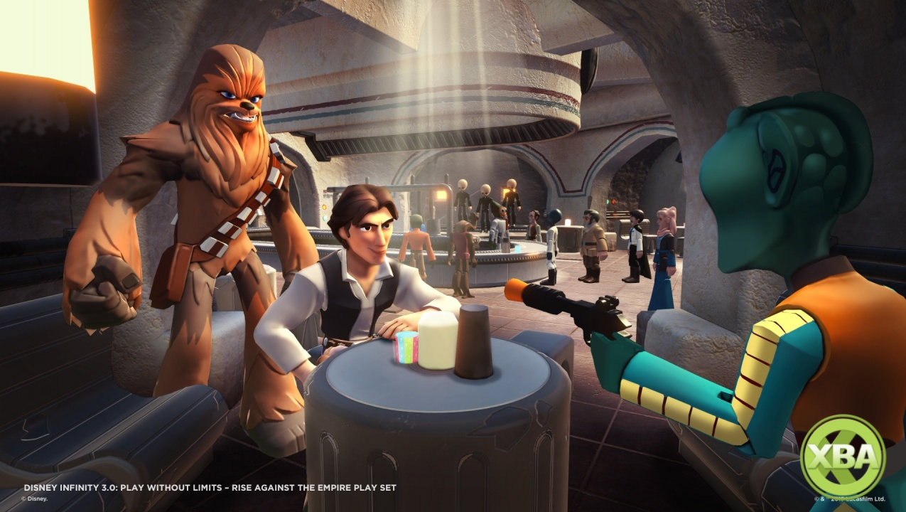 disney infinity 3 0 star wars rise against the empire. Black Bedroom Furniture Sets. Home Design Ideas