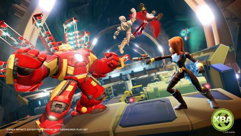 Disney Infinity 3 0 Marvel Battlegrounds Play Set Coming