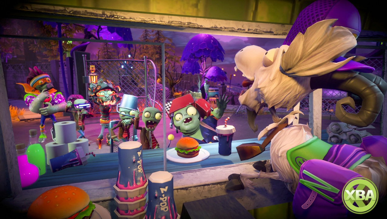 Plants Vs Zombies Garden Warfare 2 39 S Second Free Trouble In Zombopolis Dlc Arrives Today