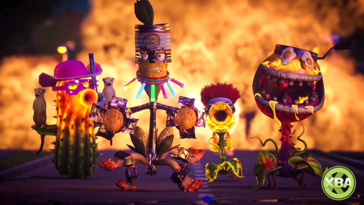 Latest Plants Vs Zombies Garden Warfare 2 Trailer Shows Off New Plant Variants Xbox One