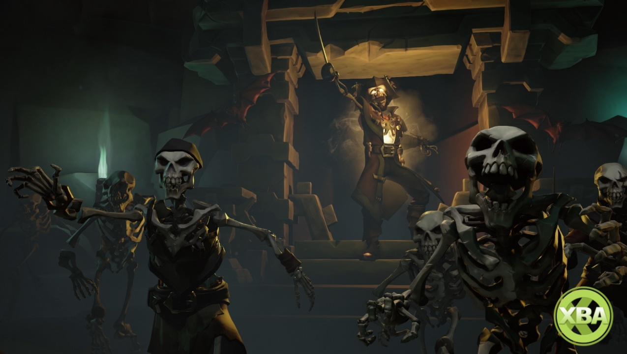 A brand new look at Sea of Thieves gameplay